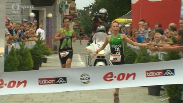 Frintov� se stala mistryn� republiky ve sprint triatlonu