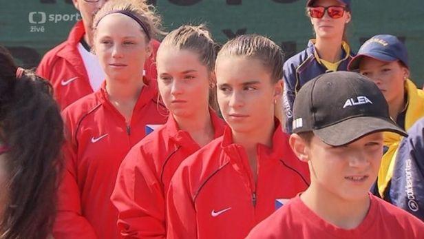 V Prost�jov� za�alo ml�de�nick� MS tenisov�ch dru�stev