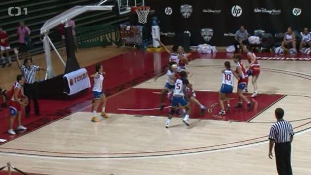 Basketbalov� veter�nky z Podol� vezou zlato z USA