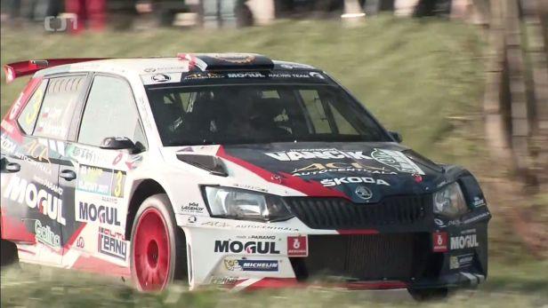 Kopecký nejrychleji vstoupil do Rallye Šumava