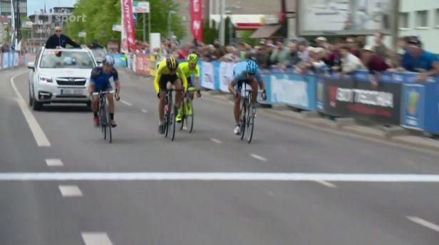 Úvodní etapu závodu Kolem Estonska vyhrál domácí Lauk