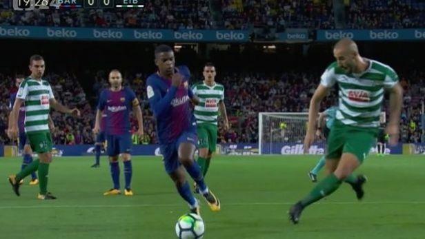 Fotbalisté Barcelony deklasovali Eibar 6:1