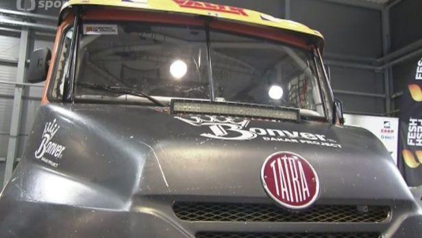 Vrátného Bonver staví nové vozy, Dakar proto vynechá