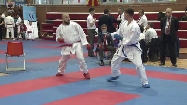 Boguský a Pleva si na ME v karate připsali bronzovou medaili