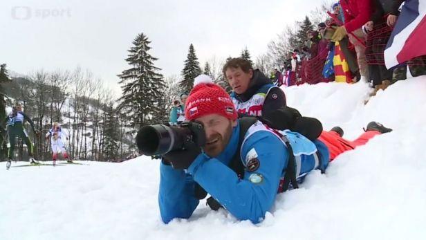 Jak vypadá práce fotografa biatlonové reprezentace?