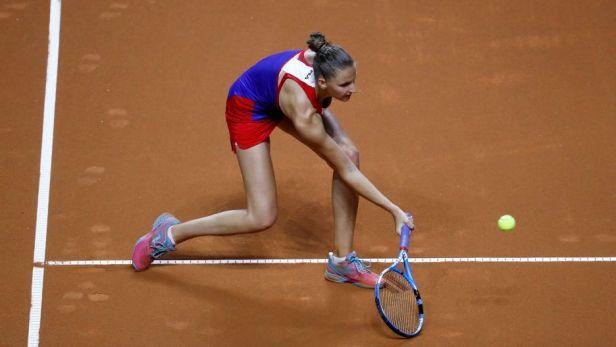 ŽIVĚ: Německo - Česko. Tenistky mají na dosah finále Fed Cupu