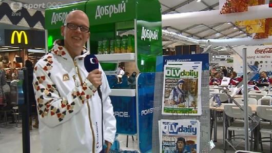 V olympijské vesnici vychází denní tisk