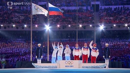 Poslední dvě medailové ceremonie