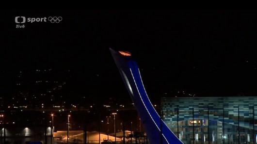 Olympijský oheň už nehoří
