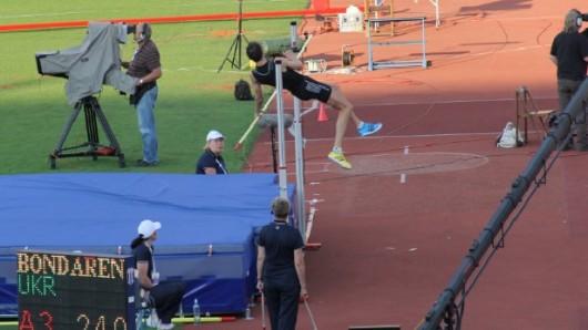 Bondarenko v Ostravě 2.40 neskočil