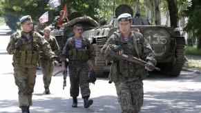 Kyjev a povstalci jednají o postavení Donbasu